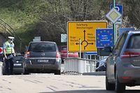 Lokales, Deutsche Grenzkontrollen, Worlmeldange, Coronavirus, Covid-19, Foto: Chris Karaba/Luxemburger Wort