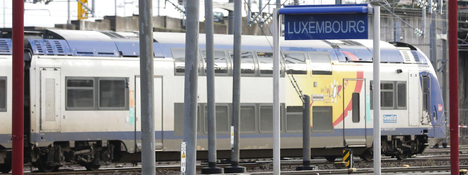 En moyenne, 12.000 personnes empruntent le TER chaque jour entre Metz, Thionville et Luxembourg.