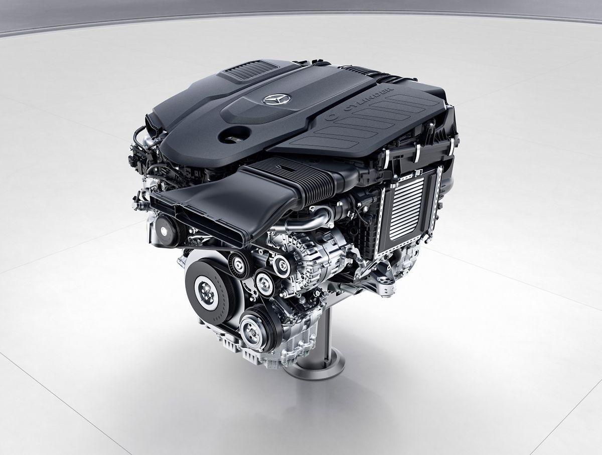 Vortrieb aus 313 PS: Der neue Motor für die Mercedes-S-Klasse.