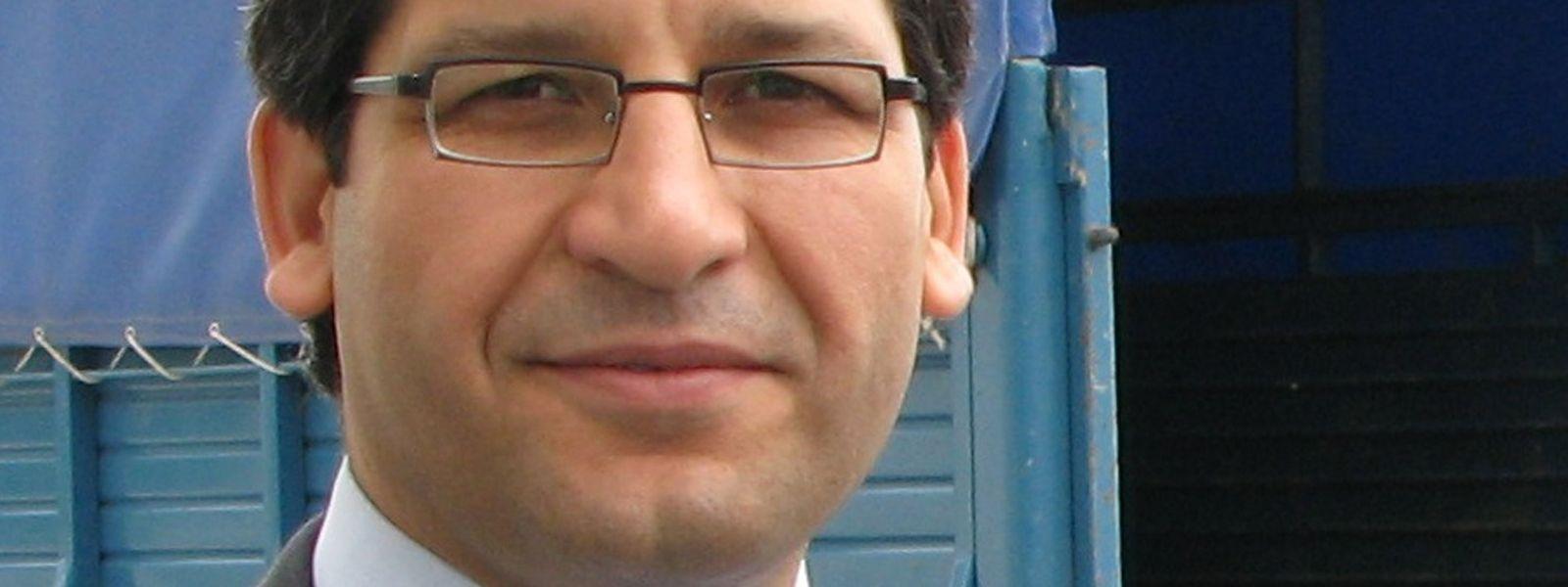 Murat Arslan, Mitglied des Verfassungsgerichts der Türkei und Vorsitzender der inzwischen verbotenen Union der türkischen Richter und Staatsanwälte.