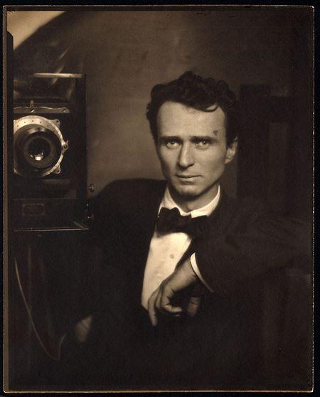 Edward Steichen, Self-Portrait with Camera, 1917.