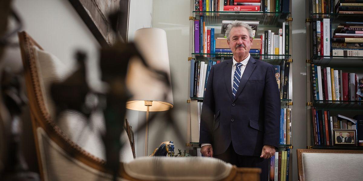 """Der """"Poulidor"""" der Politik: Außenminister Jean Asselborn."""