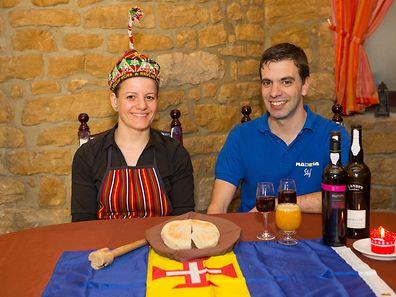 Florbela Oliveira e Armando Figueiredo são proprietários do restaurante Madeira Stuff, situado em Pfaffenthal.