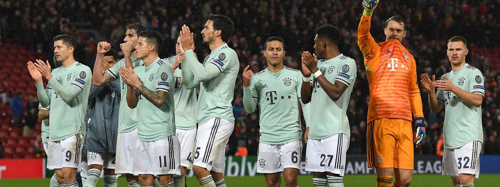 Die Bayern kontrollierten das Geschehen an der Anfield Road – und gingen als gefühlter Sieger vom Platz.