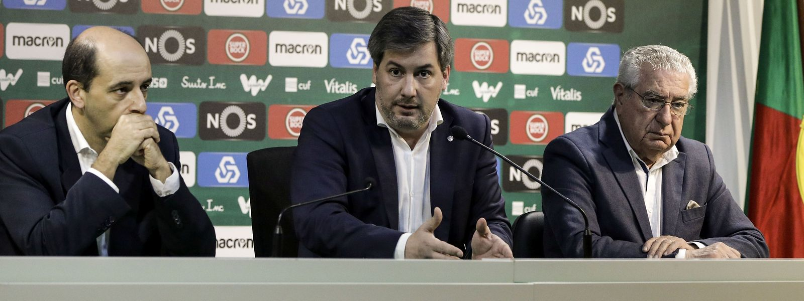 a destituição do CD liderado por Bruno de Carvalho foi aprovada com 71% dos votos.