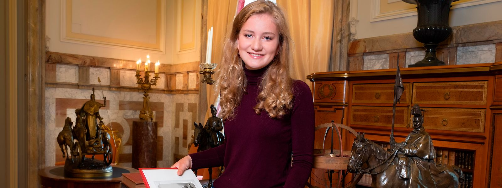 Die belgische Prinzessin Elisabeth lebt im Ausland - und verzückt doch ganz Belgien.