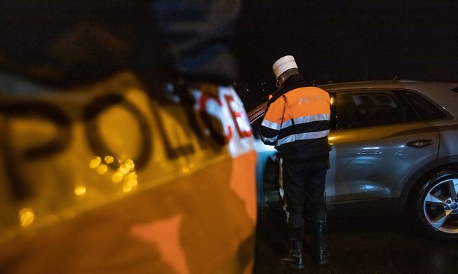 Law enforcement officers carried out 236 checks in the past seven days