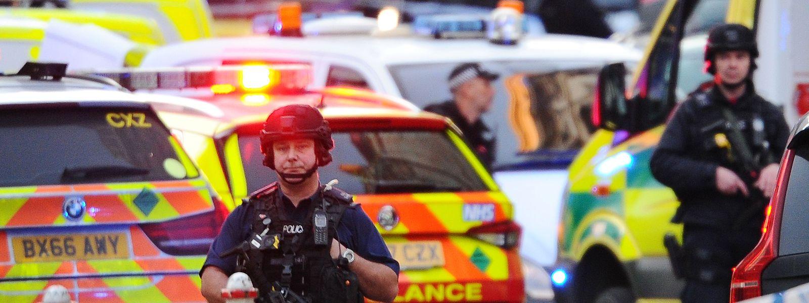Die Polizei der britischen Hauptstadt war in Großalarm.