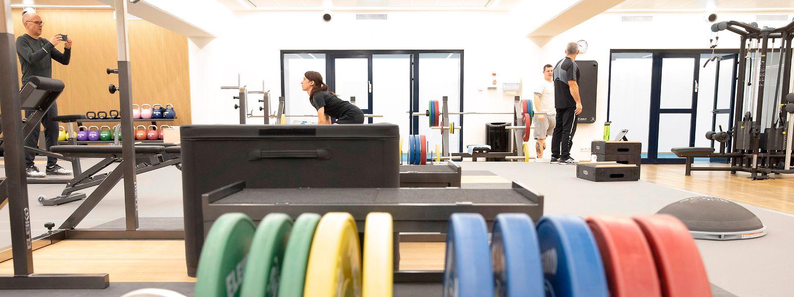 Das High Performance Training & Recovery Center in der Coque ist ein wichtiger Bestandteil des LIHPS.