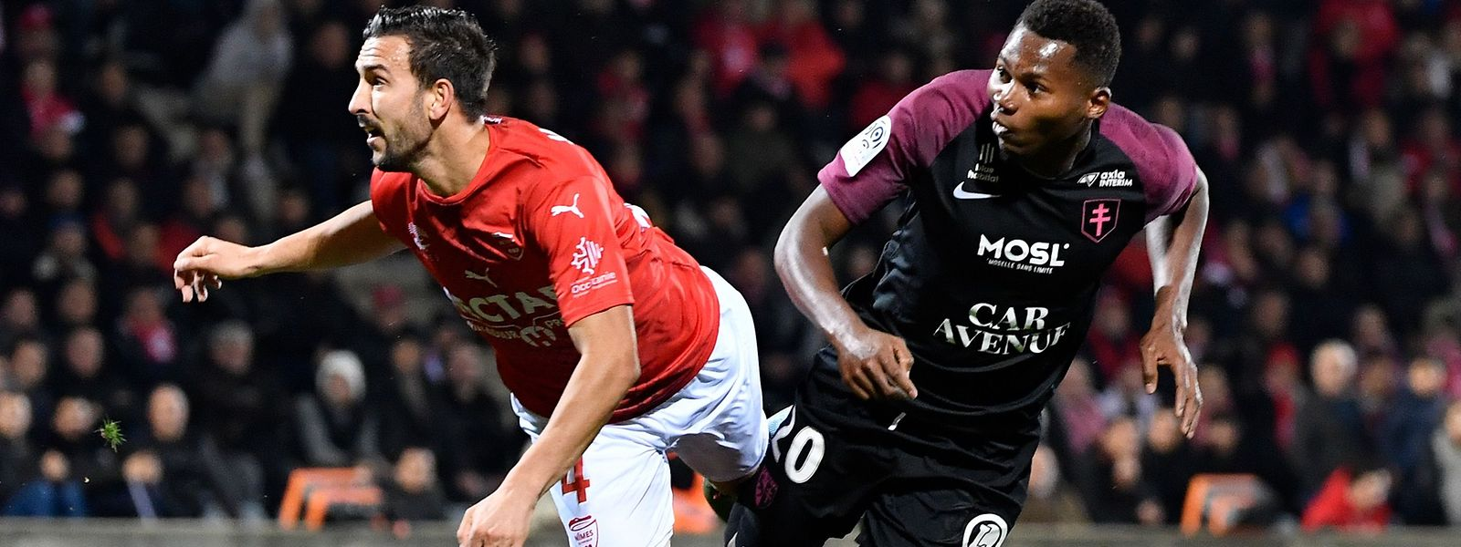 Habib Diallo a inscrit son neuvième but de la saison mais il n'a pas suffi aux Messins pour prendre les trois points.