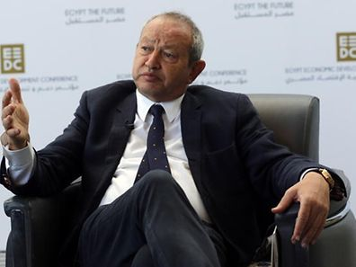 Le millionnaire égyptien Naguib Sawiris.