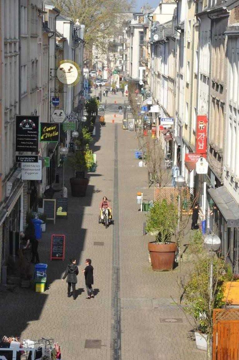 So sieht die Rue du Brill heute aus.