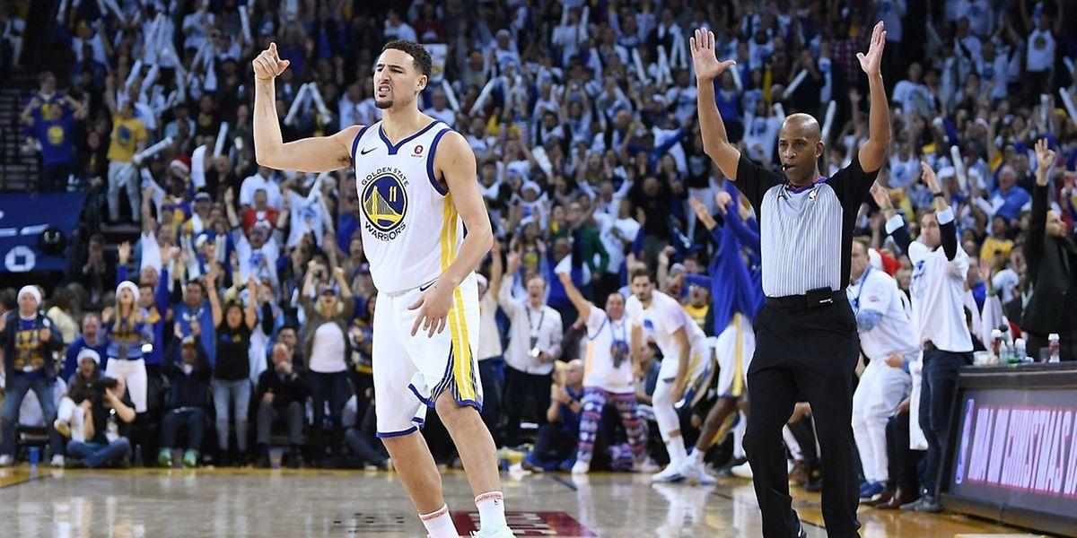 Klay Thompson et les Warriors dominent de la tête et des épaules la Conférence Ouest.
