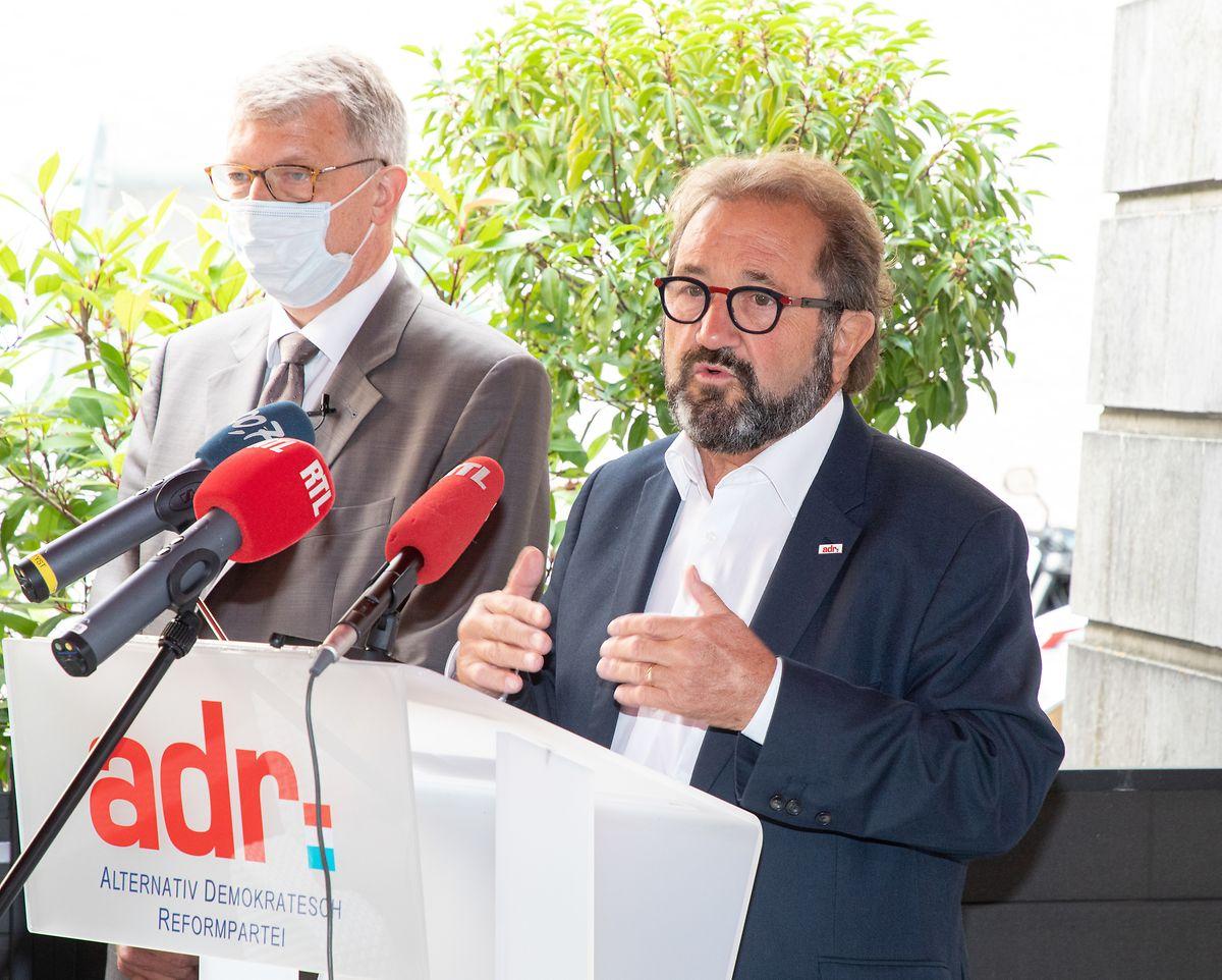Parteiurgestein Gast Gibéryen hielt beim Fraktionsessen seine Abschiedsrede.