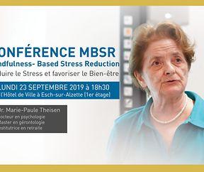 MBSR KONFERENZ & KURSE mit Dr Marie-Paule Theisen
