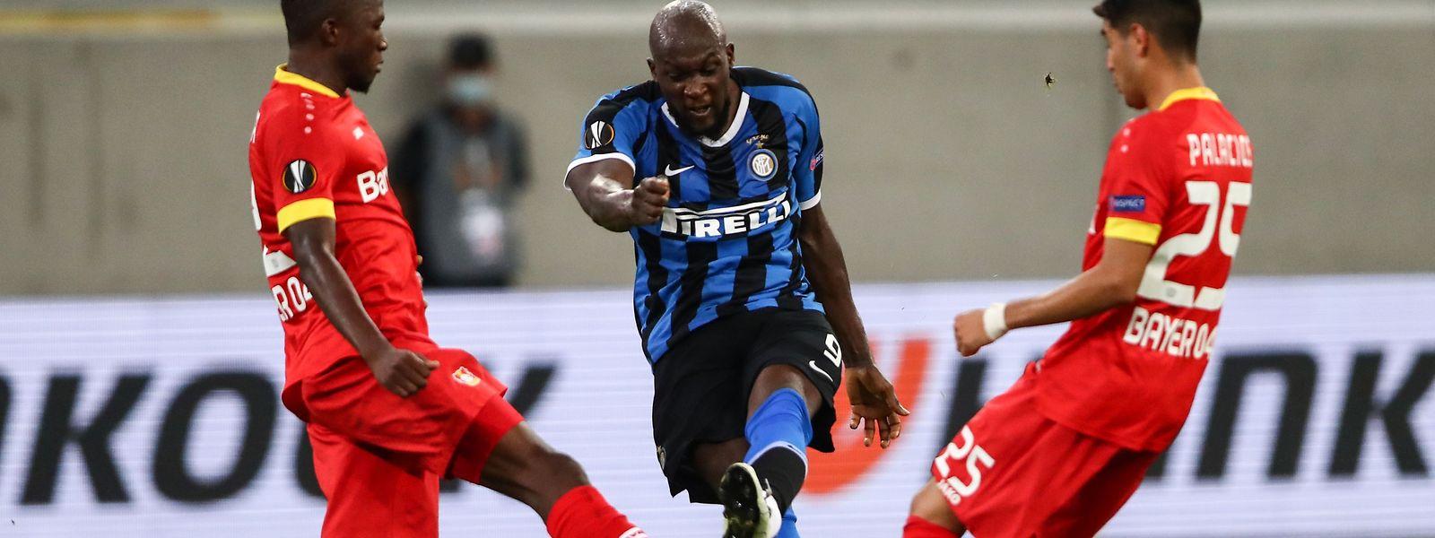 Porté par Romelu Lukaku, l'Inter n'a pas tremblé face à Leverkusen.