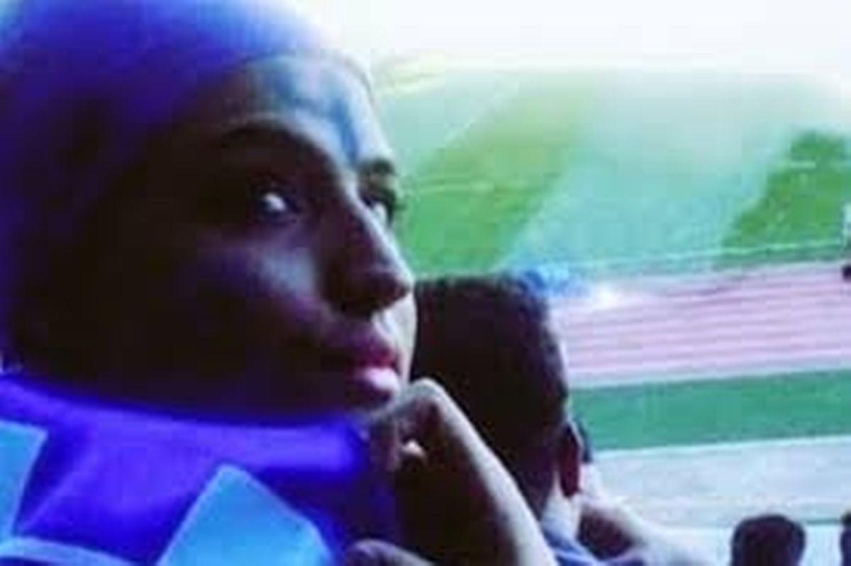 A ida de Sahar ao estádio vestida de homem e que a levou à prisão.
