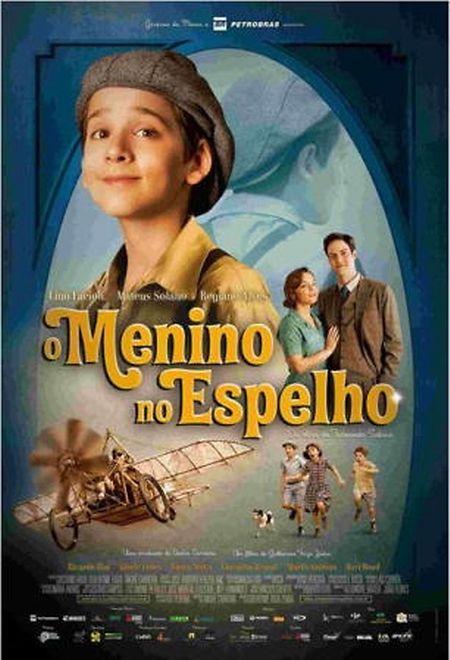 """Lino Facioli é o protagonista do filme """"O Menino ao Espelho"""" (2014)"""