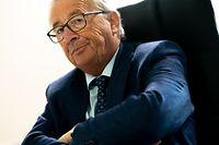Itv Jean-Claude Juncker sur les événements du 11 septembre 2001 20 ans après. Luxembourg le 08.09.2021 Photo Christophe Olinger