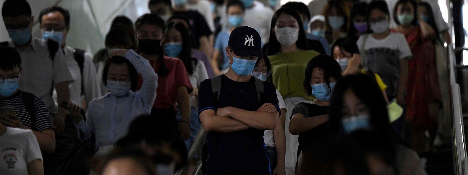 La Chine craint de voir se répandre à nouveau le coronavirus à travers le pays.