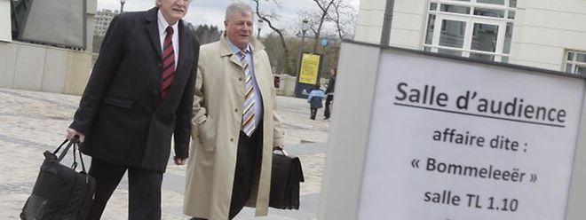 Nach 70 Verhandlungstagen befasste sich das Gericht am Montag erstmals eingehend mit den zwei Angeklagten Jos Wilmes und Marc Scheer.