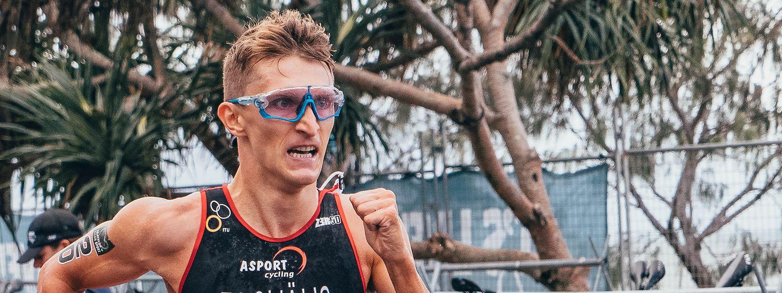Stefan Zachäus beendet das Rennen vorzeitig.