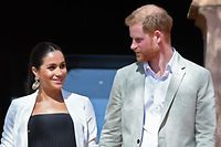 Der britische Prinz Harry und seine Frau Meghan, Herzogin von Sussex, haben Marokko besucht.