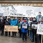 Meia centena protesta pela proteção do património