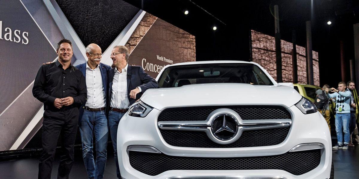 Der Daimler-Vorstand setzt bis auf weiteres auf Benzin und Diesel, erweitert um elektrische Antriebe.