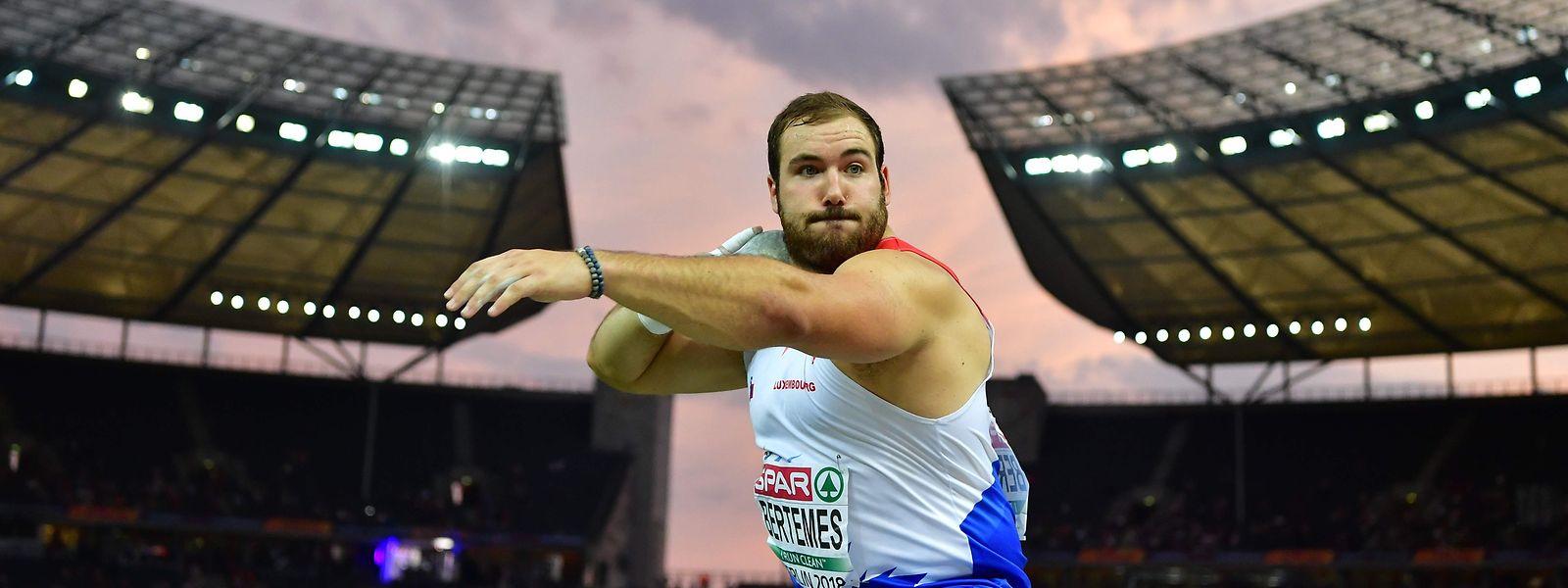 """Bei der Leichtathletik-EM in Berlin gelingt Bob Bertemes der Durchbruch. """"Seitdem nehme ich alles als Bonus"""", sagt er."""