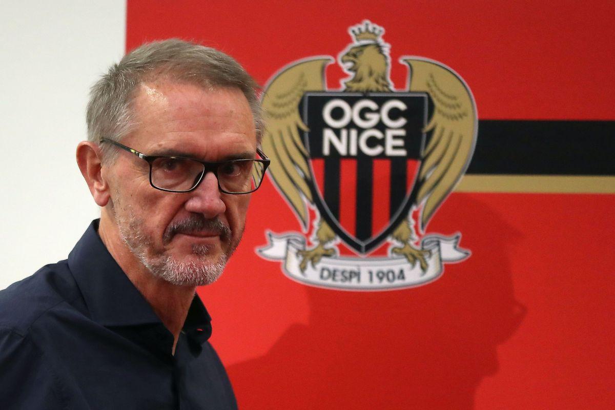 Robert Ratcliffe, CEO d'Ineos et nouveau propriétaire de l'OGC Nice, était en tribunes pour assister au match contre Marseille