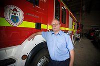 Raymond Moos - Commandant de la caserne des pompiers de Differdange - Photo : Pierre Matgé