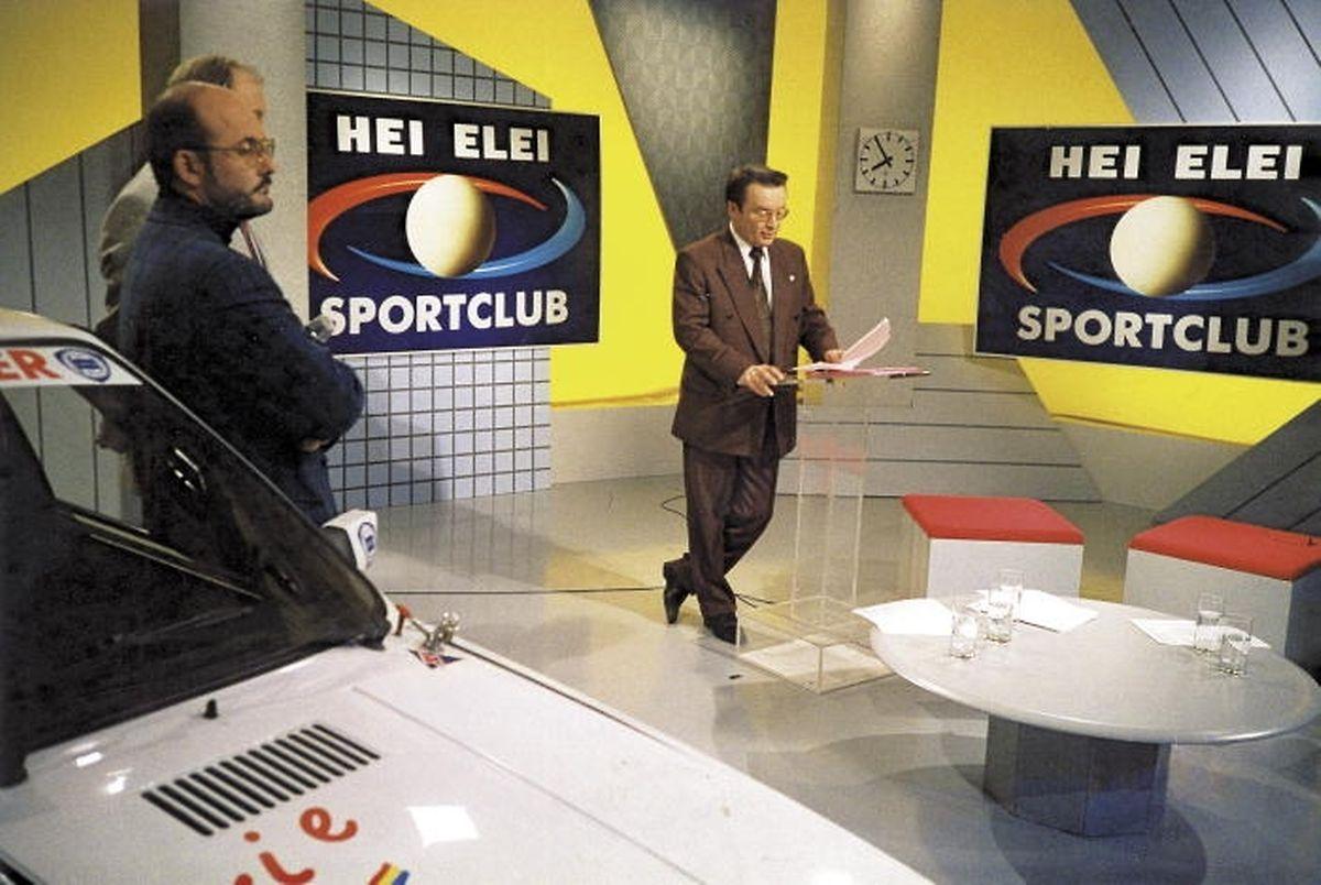"""Als Moderator des """"Sportclub"""" machte Pilo Fonck stets eine gute Figur."""