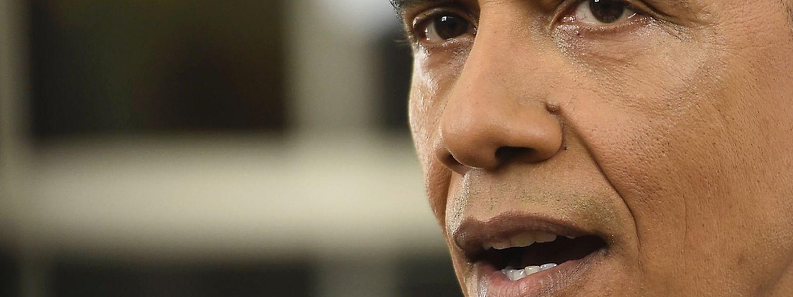 """""""Muslimische Amerikaner sind unsere Freunde, unsere Kollegen"""", das war eine der Aussagen Obamas, der sich klar gegen Terror aussprach."""