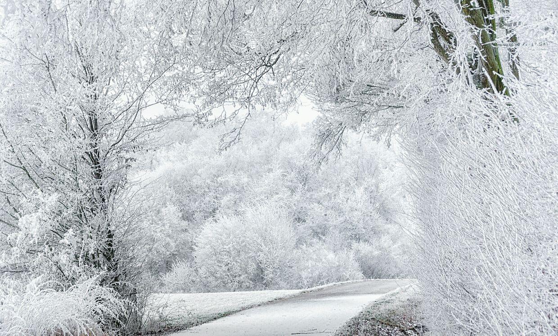 Wintereinbruch über Luxemburg.