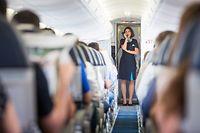 Reportage Luxair - Begleitung eines Flugs, Foto Lex Kleren