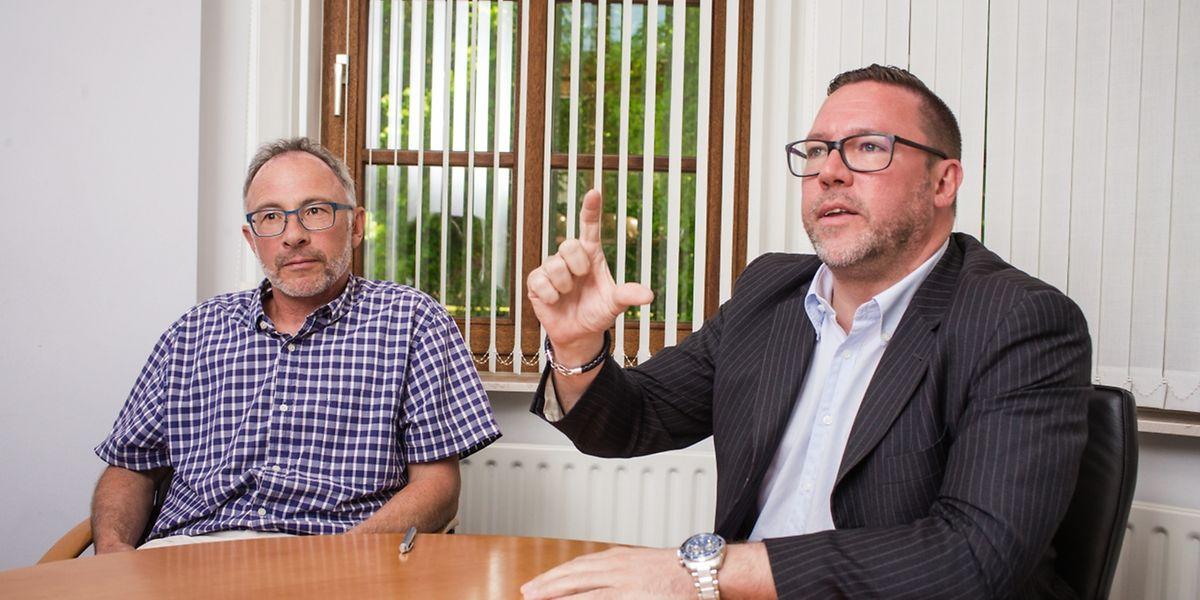 Laut SES-Direktor Tom Levy und SES-Präsident Tom Jungen würde die Joghurtfabrik nicht zu einer Erhöhung des Wasserpreises führen. Eher das Gegenteil.