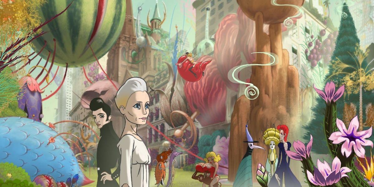 """""""The Congress"""" mélange images d'animations et de fiction, avec Robin Wright"""