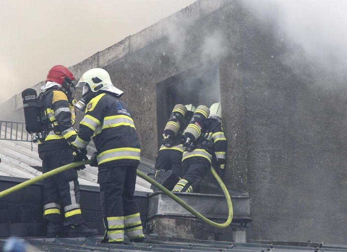 Gut ausgebildet und fit müssen die Feuerwehrleute sein.