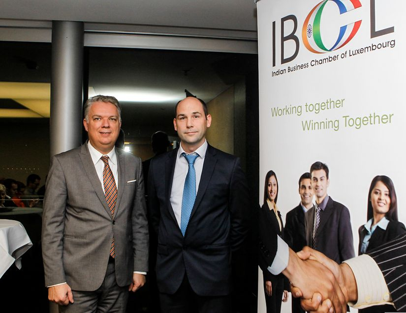 IBCL event speakers Lucien Lerclerc from BNP Paribas Wealth Management and Laurent Koener, Managing Partner of Koener Consulting Group