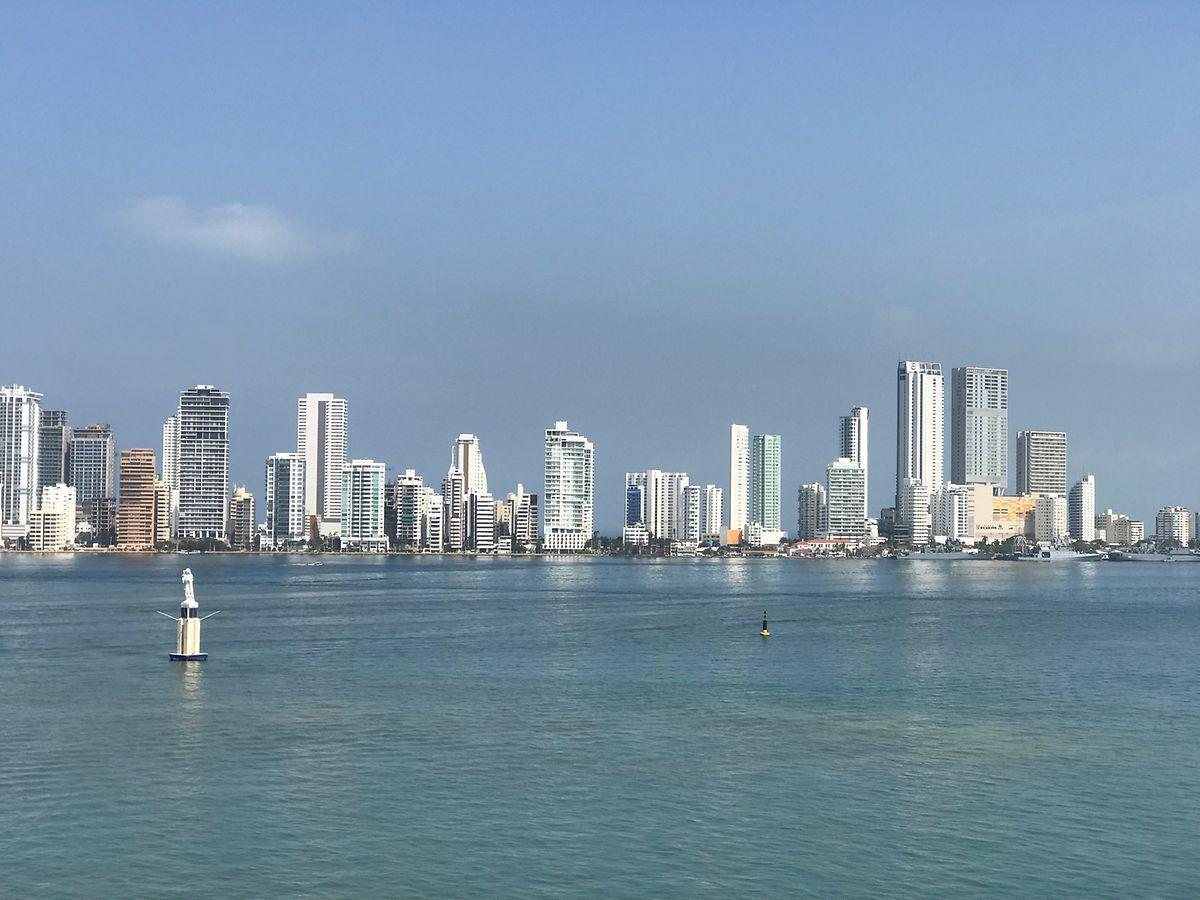 Cartagena in Kolumbien - eine Millionenstadt am Atlantik.