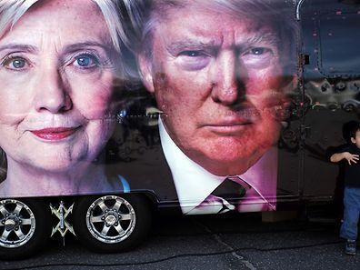 Die USA fiebern dem ersten Fernsehduell der Präsidentschaftskandidaten entgegen.