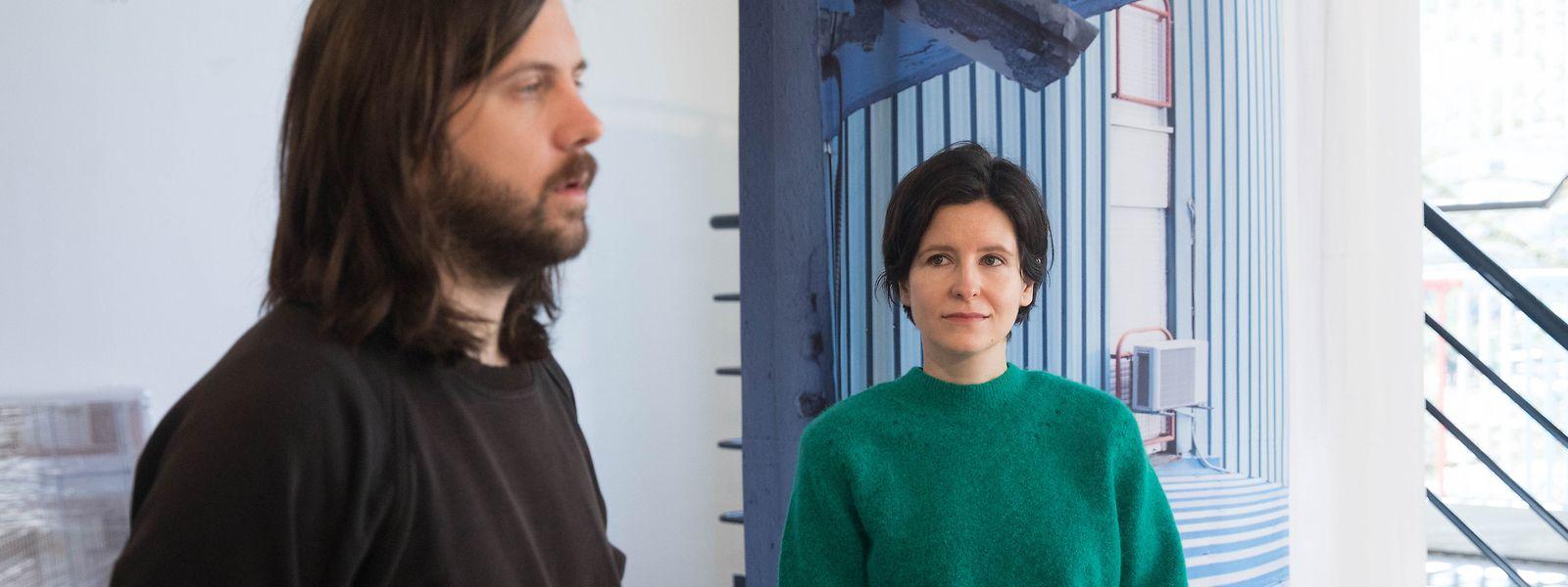 Les designers croates Leo Kirincic (g.) et Masa Pojanec ont documenté et analysé le projet de l'architecte Ninoslav Kucan.