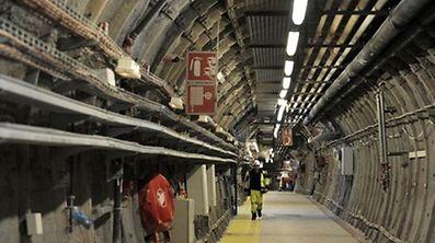 Dans le sous-sol de Bure (Meuse), 80 000 m3 de déchets radioactifs doivent être stockés dans 15 km2 de galeries