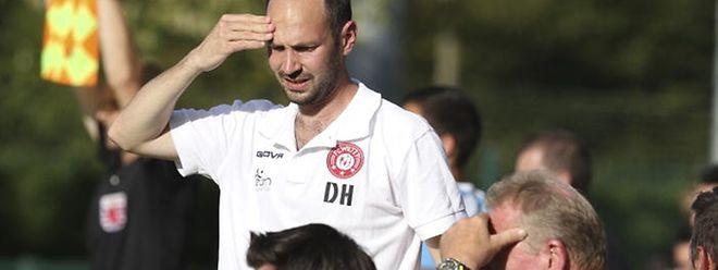 Pour Dan Huet, le coach du FC Wiltz 71, le processus de reconstruction du club prendra du temps.