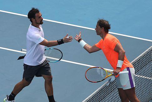 Tennis: Nadal marschiert, Pegula überrascht