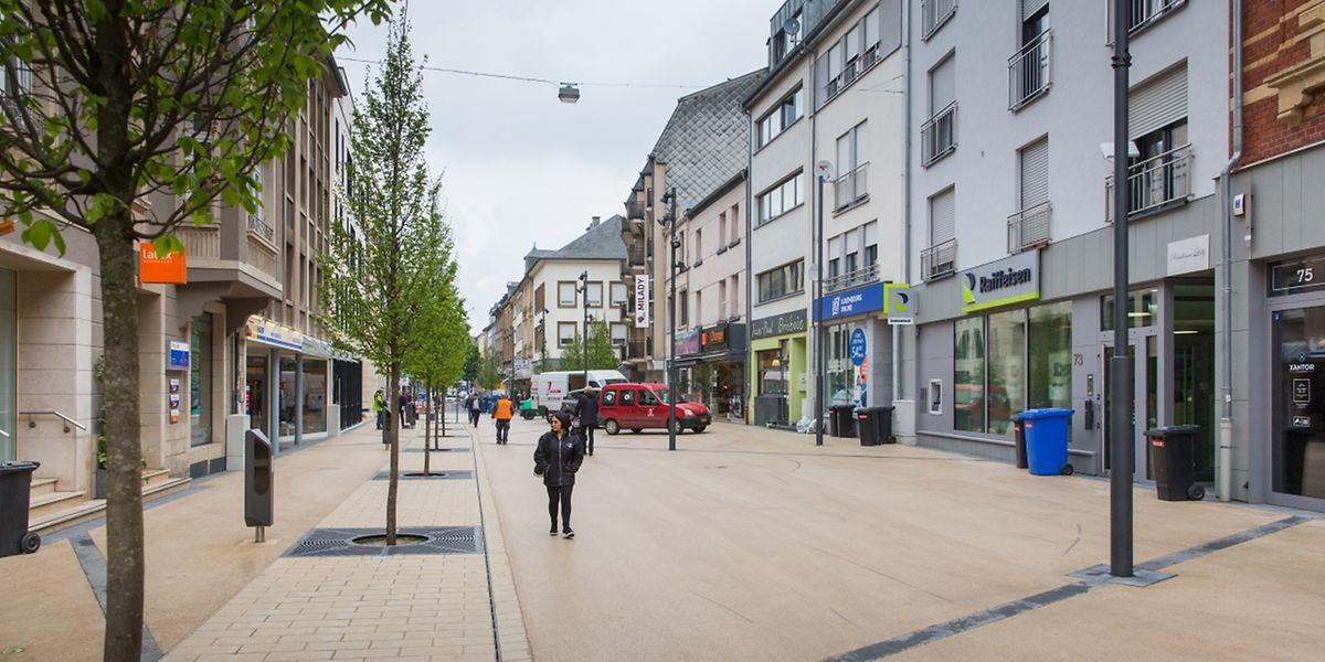 """Am Freitag wird der """"Shared Space"""" in Düdelingen offiziel eingeweiht."""
