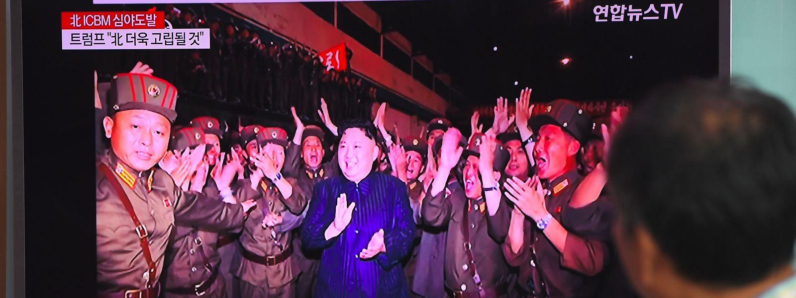 Die Welt betrachtet Nordkorea in Sorge.
