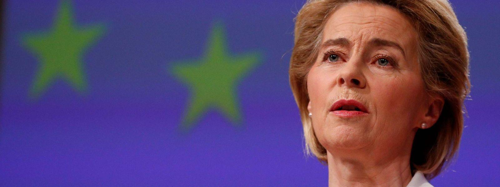 """Ursula von der Leyen: """"Die vielen Milliarden, die heute investiert werden müssen, um eine größere Katastrophe abzuwenden, werden Generationen binden."""""""