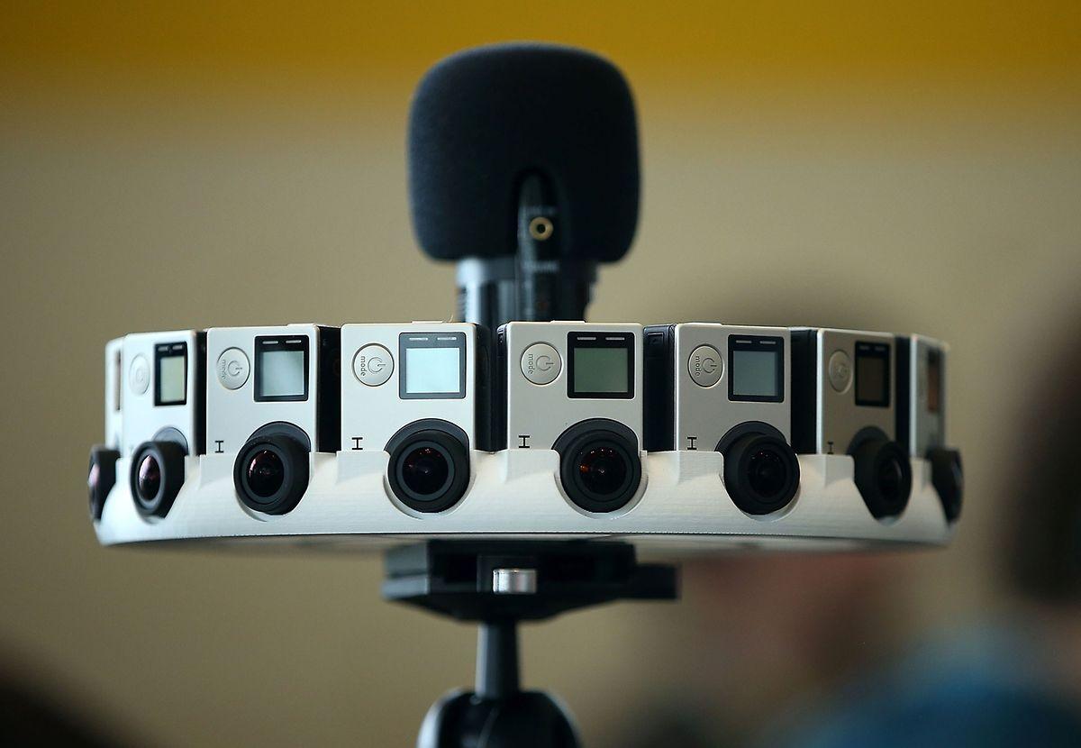 Google und GoPro wollen mit Hilfe von 16 kreisförmig angeordneten Kameras, die gleichzeitig filmen, die Filmproduktion revolutionieren.